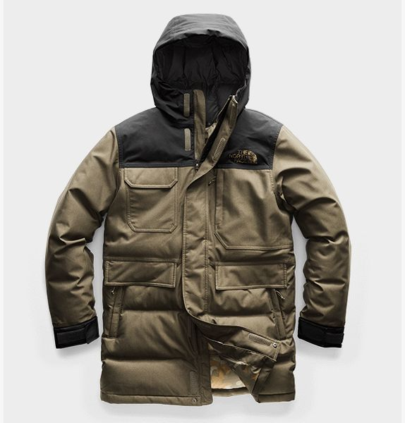 The North Face Mens Biggie McMurdo Parka