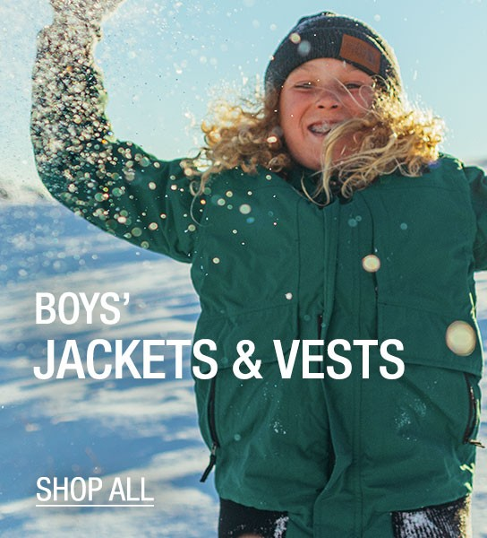 Boys Jackets & Vests