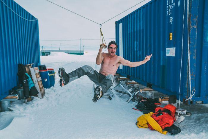 Cedar Wright Antartica