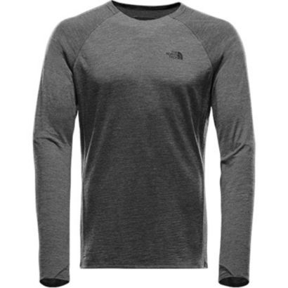 Men's Wool baselayer L/S Crew Neck Progressor Shell
