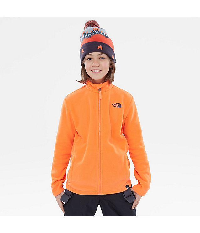 Youth Snowquest Pullover Fleece | The North Face