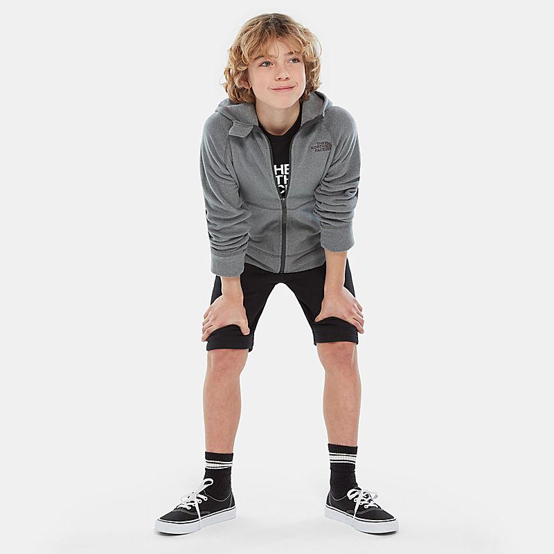 Glacier-jas met capuchon voor jongens-