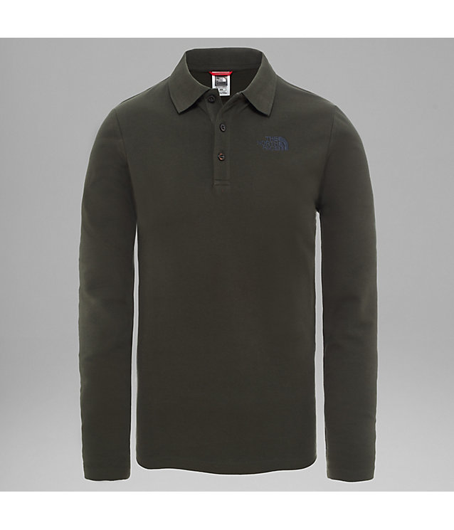 Long-Sleeved Polo Shirt | The North Face