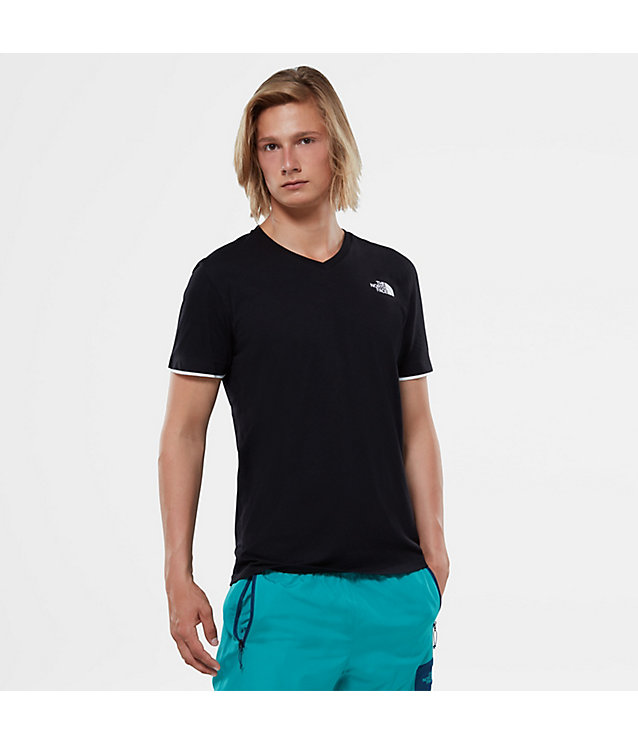 T-shirt met V-hals | The North Face
