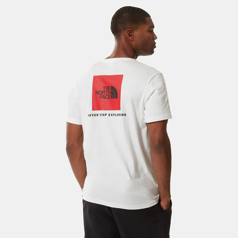T-shirt Red Box pour homme-