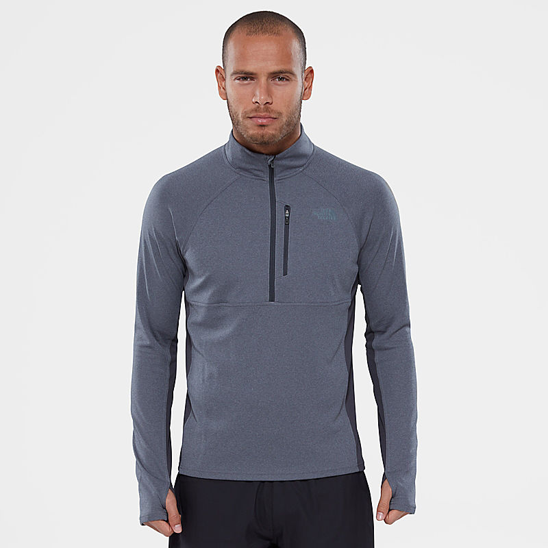 Ambition 1/4 Zip Long-Sleeve Shirt-