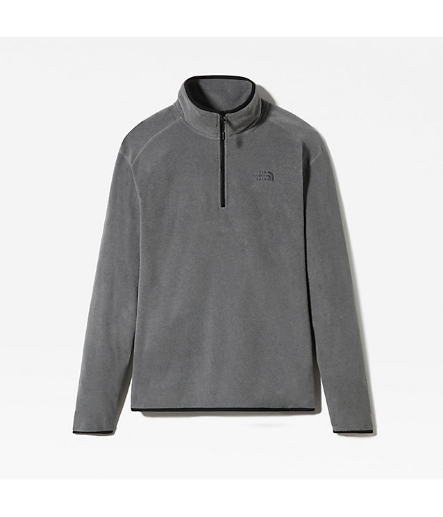 Pull-over en polaire 100 Glacier zippé 1/4 pour homme | The North Face