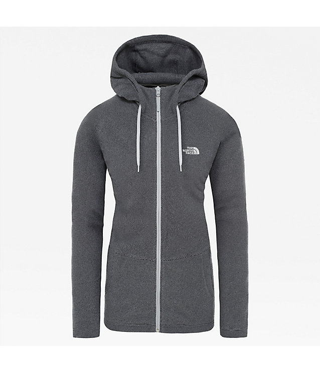 Women's Mezzaluna Full-Zip Hooded Fleece | The North Face