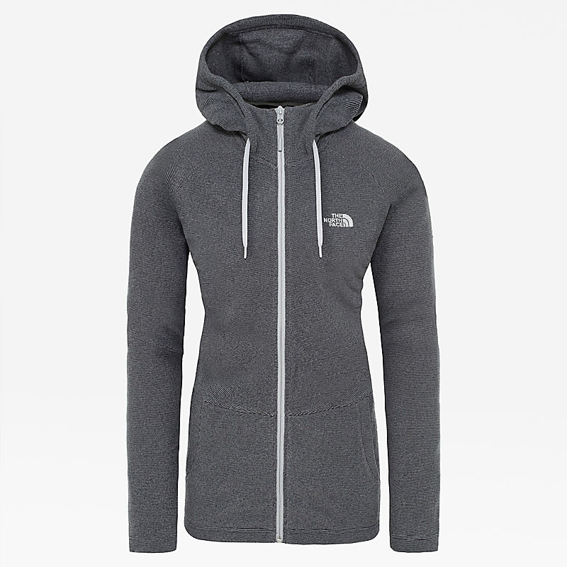 Women's Mezzaluna Full-Zip Hooded Fleece-