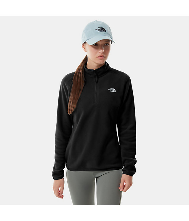Women's 100 Glacier Quarter Zip Fleece Pullover | The North Face