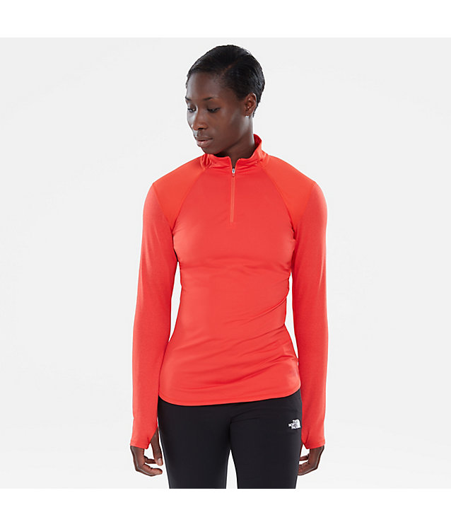 Motivation 1/4 Zip Long-Sleeve Shirt | The North Face