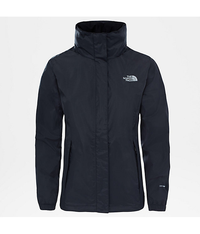 Damen The North Face Jacke Schwarz Resolve Regen