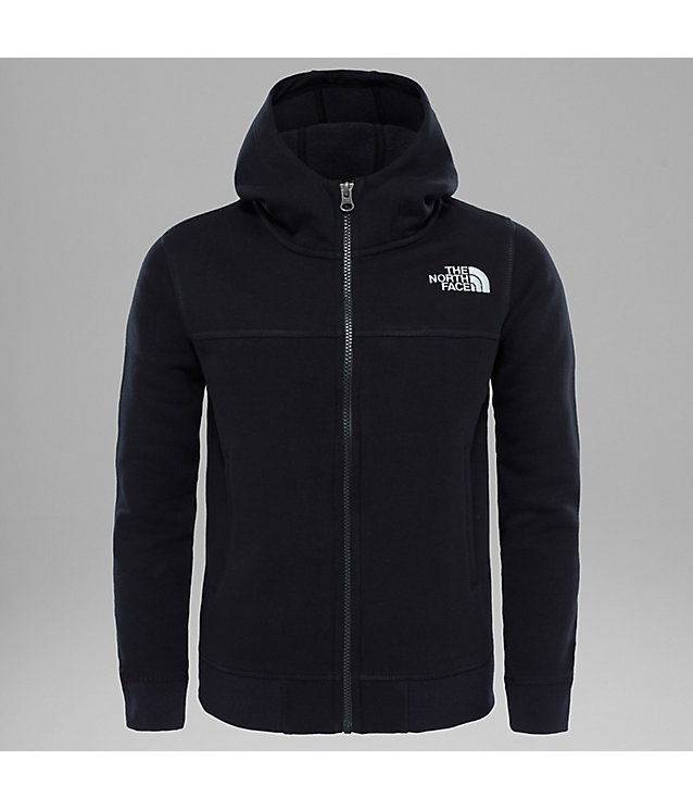 Youth Full Zip Drew Peak Hoodie | The North Face