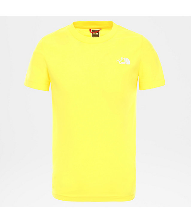 SIMPLE DOME-T-SHIRT VOOR TIENERS | The North Face
