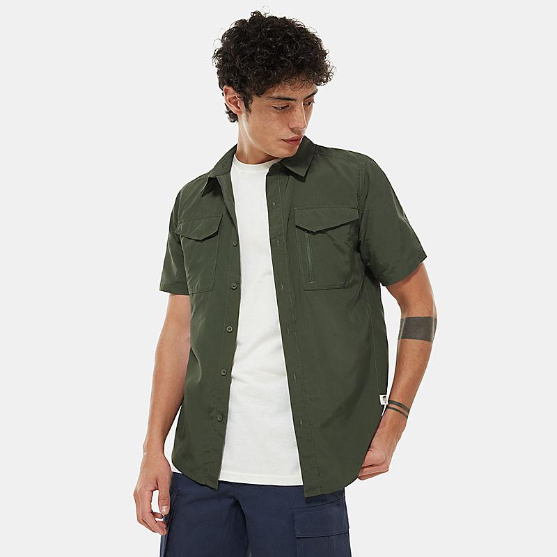 Camisa De Manga Curta Sequoia Para Homem-