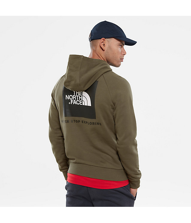 Red Box Hoodie mit Raglanärmeln | The North Face