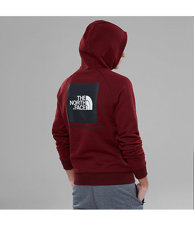 Raglan Red Box Hoodie | The North Face