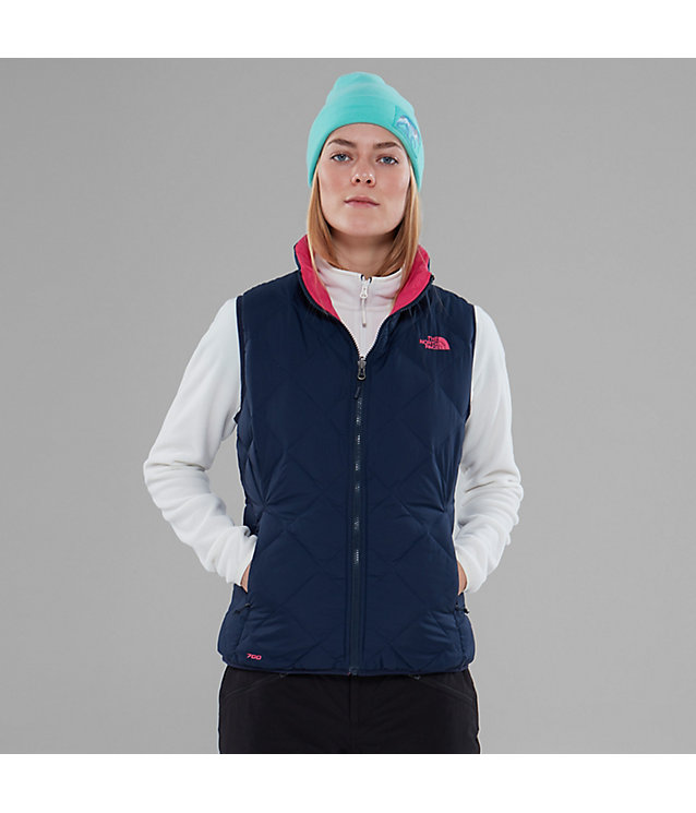 Peakfrontier Zip-in bodywarmer van dons, omkeerbaar | The North Face