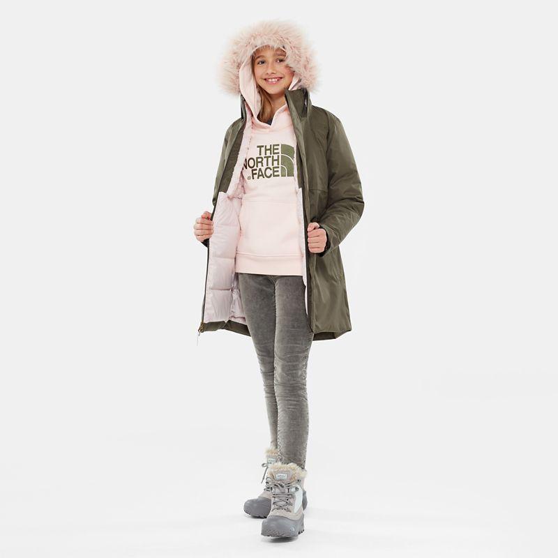 Girl's Arctic Swirl Down Jacket-