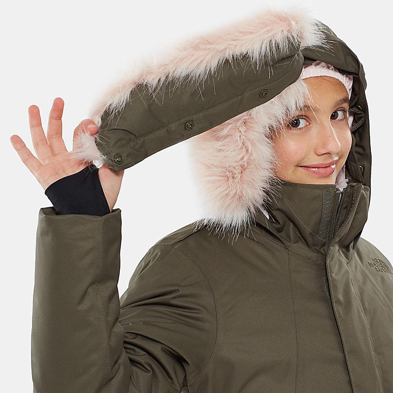 Veste en duvet Arctic Swirl pour fille-