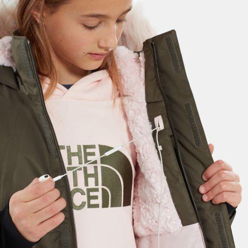 Mädchen Arctic Swirl Daunenjacke-