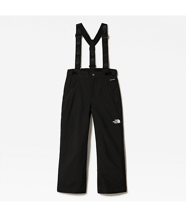 YOUTH SNOW QUEST SUSPENDER PLUS SKI TROUSERS | The North Face