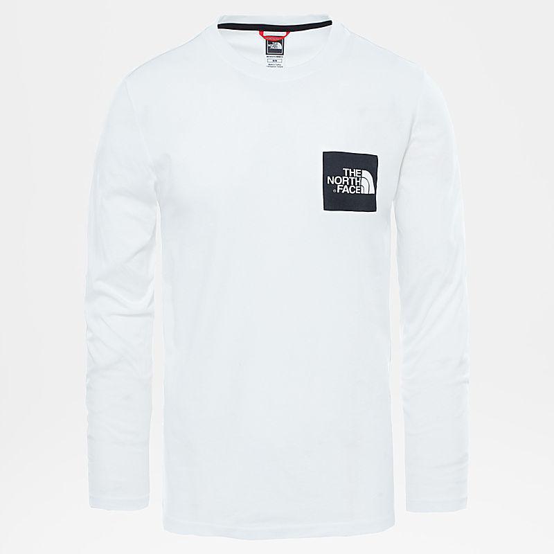 Fine T-shirt met lange mouwen voor heren-
