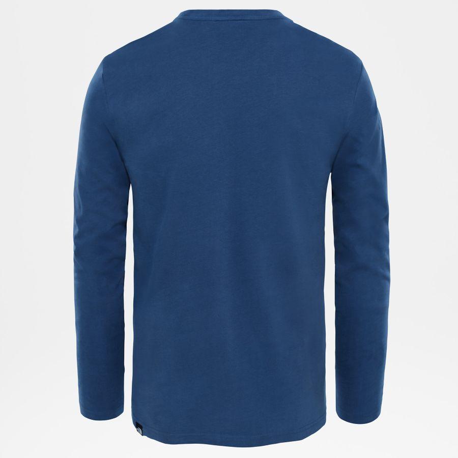 Men's Fine Long-Sleeve T-Shirt-