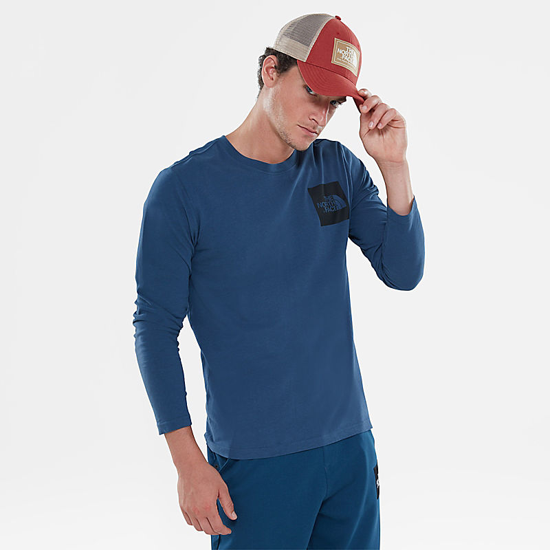 Men's Fine Long-Sleeve T-Shirt-