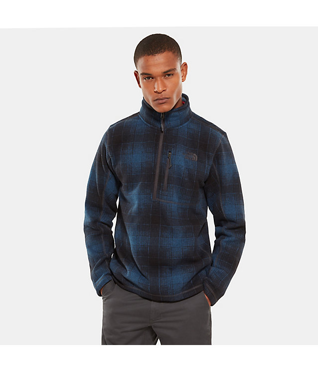 Novelty Gordon Lyons-fleece met 1/4 rits voor heren | The North Face