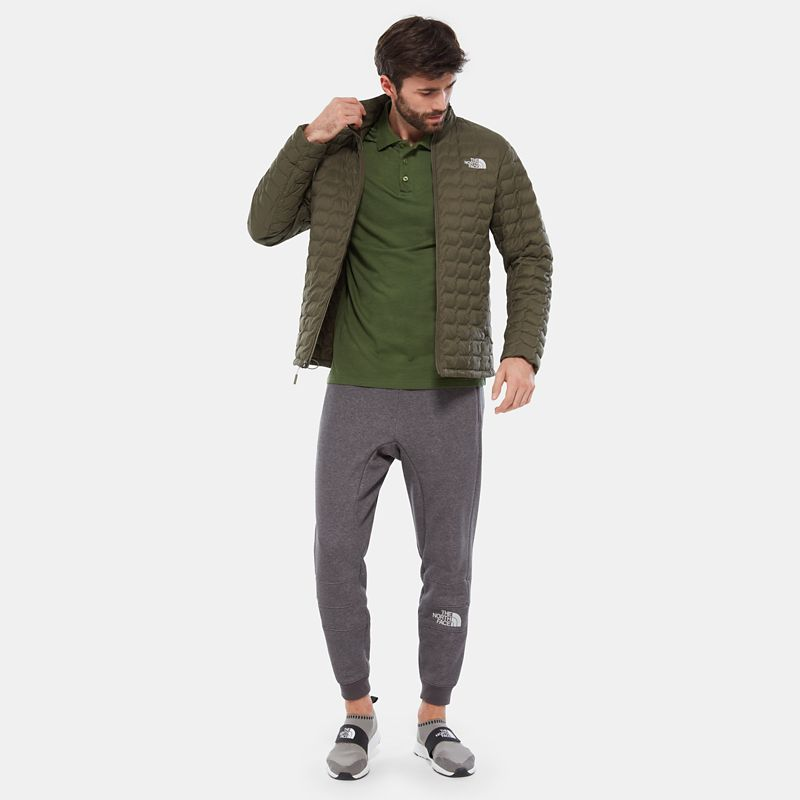 Raglan Jersey Polo Shirt-