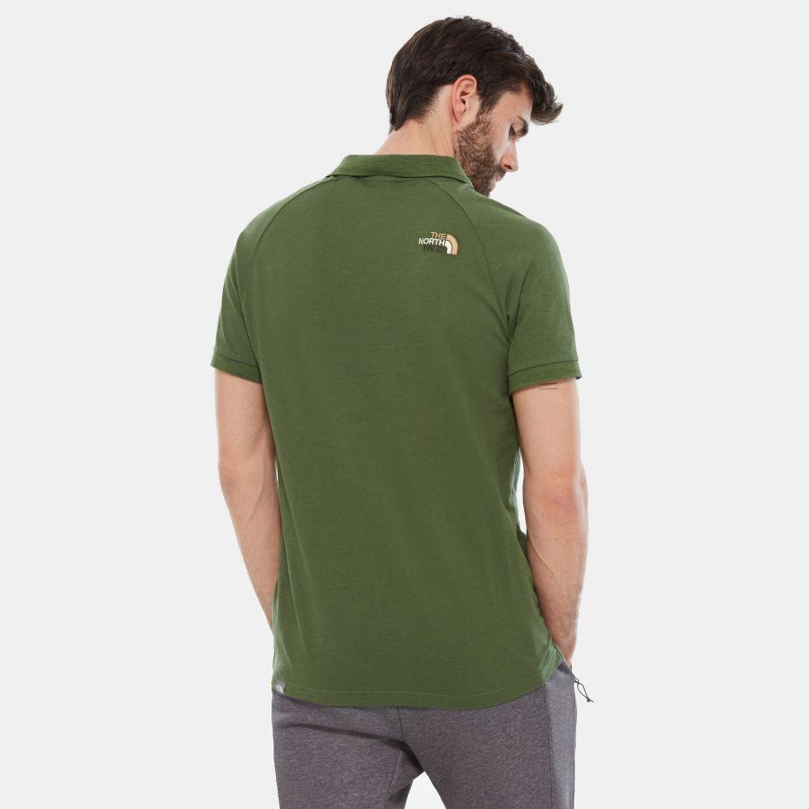 Polo à manches raglan en jersey-