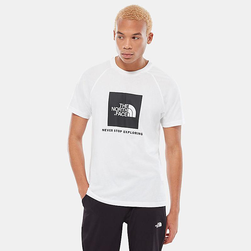 Raglan Red Box T-Shirt-