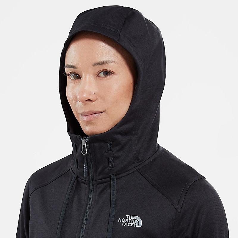 Chaqueta con capucha técnica Tech Mezzaluna para mujer-