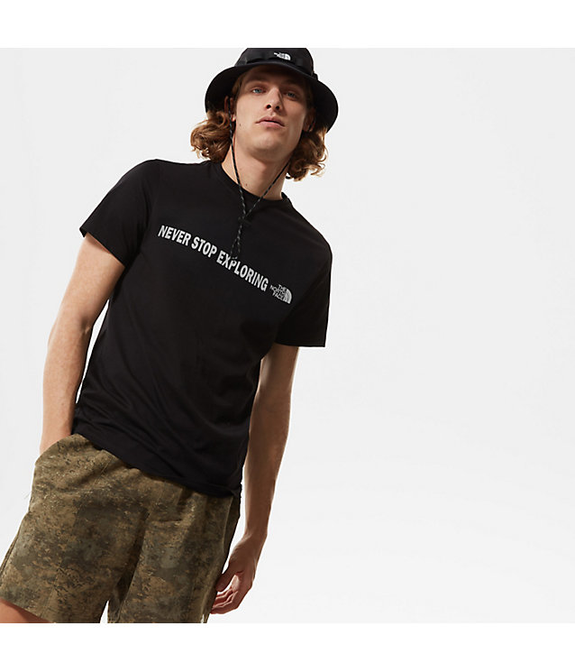OPEN GATE-T-SHIRT MET KORTE MOUWEN VOOR HEREN | The North Face