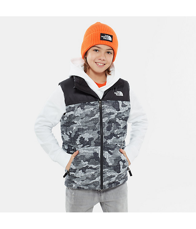 Jungen Nuptse Daunenweste | The North Face