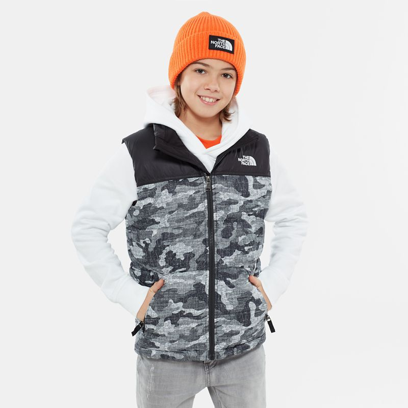 Boys' Nuptse Down Gilet-