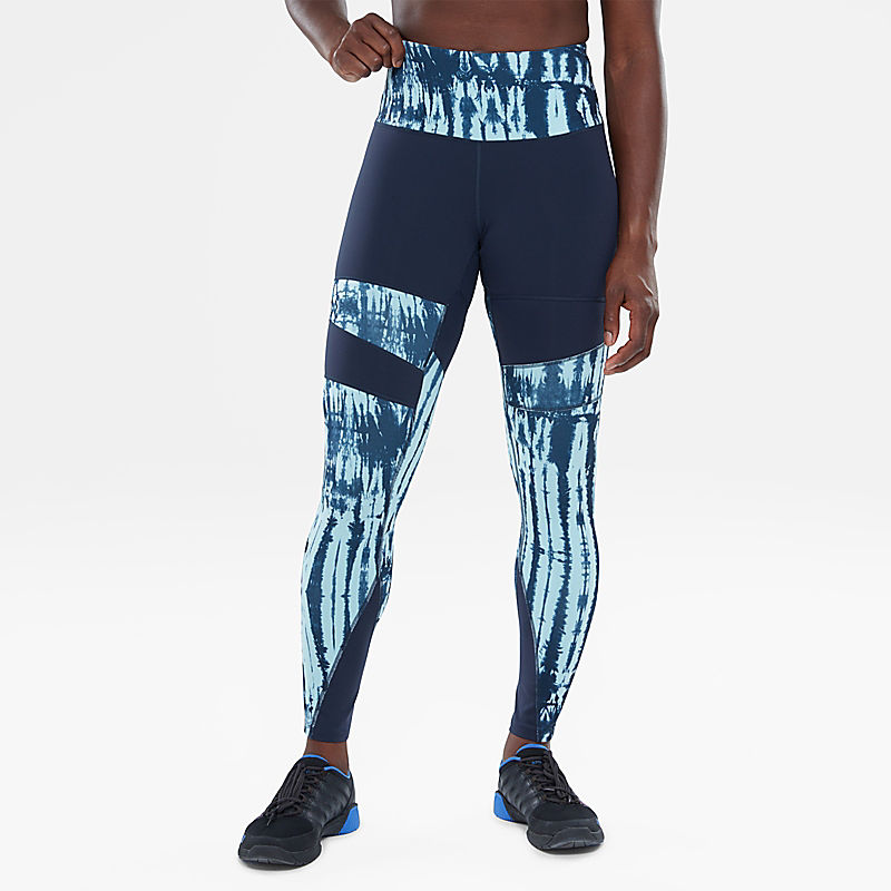 High Rise Motivation Printed Tights-