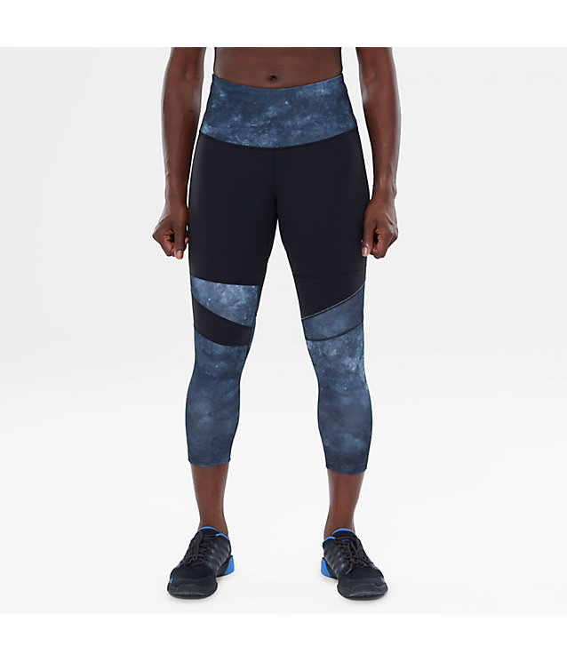 High Rise Motivation Printed Cropped Tights | The North Face