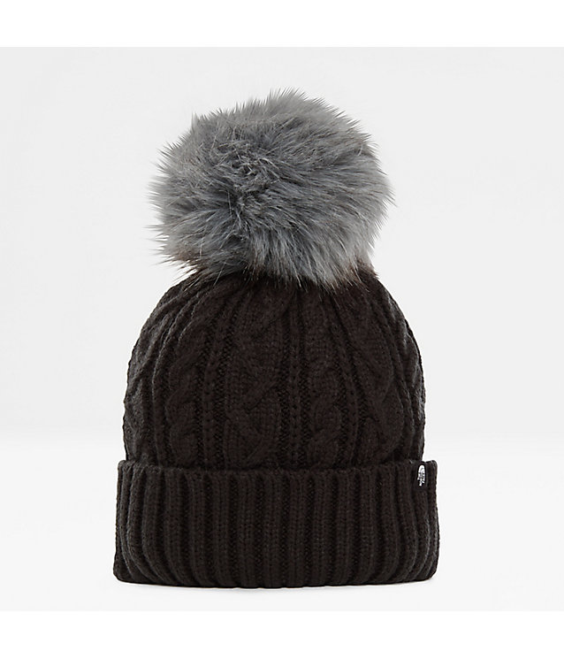 Oh-Mega-beanie met pluizige pompon voor dames | The North Face