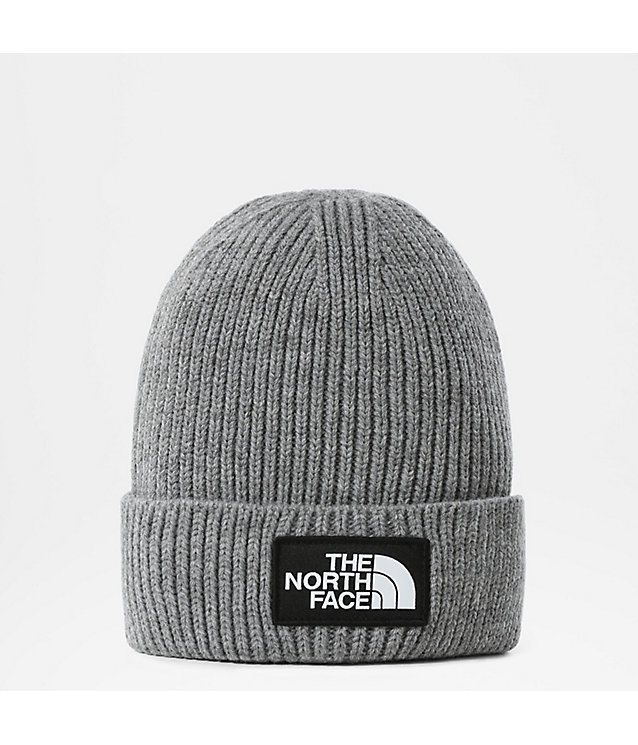 TNF Logo Box Beanie mit Umschlag | The North Face