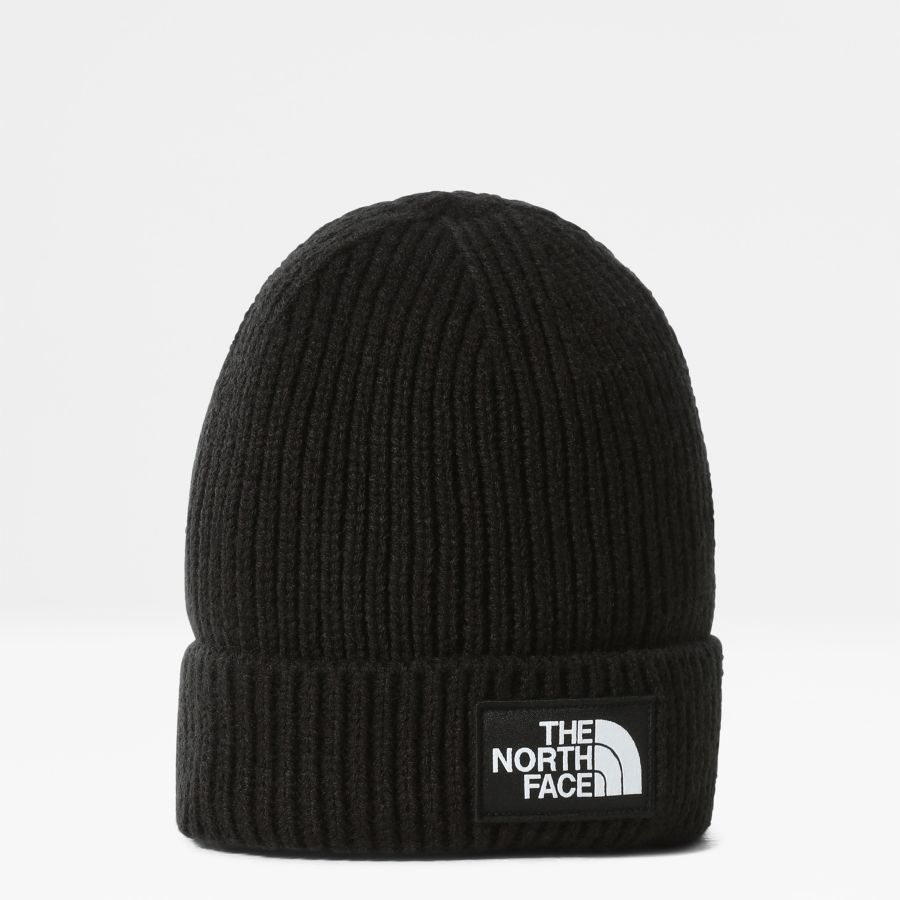 Tnf Logo Box Cuffed Beanie-