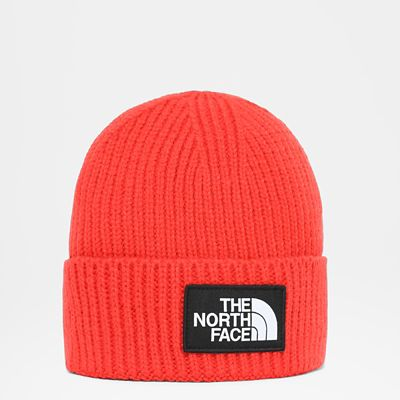 The North Face Bonnet À Revers Tnf Logo Box Flare Taille Taille Unique Court