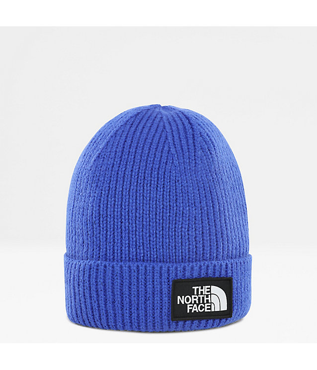 Gorro con dobladillo y logotipo de TNF rectangular para jóvenes | The North Face