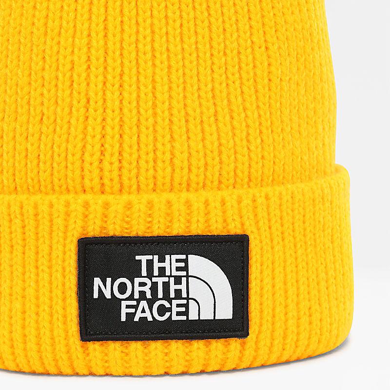 Bonnet à logo carré TNF avec pompon-