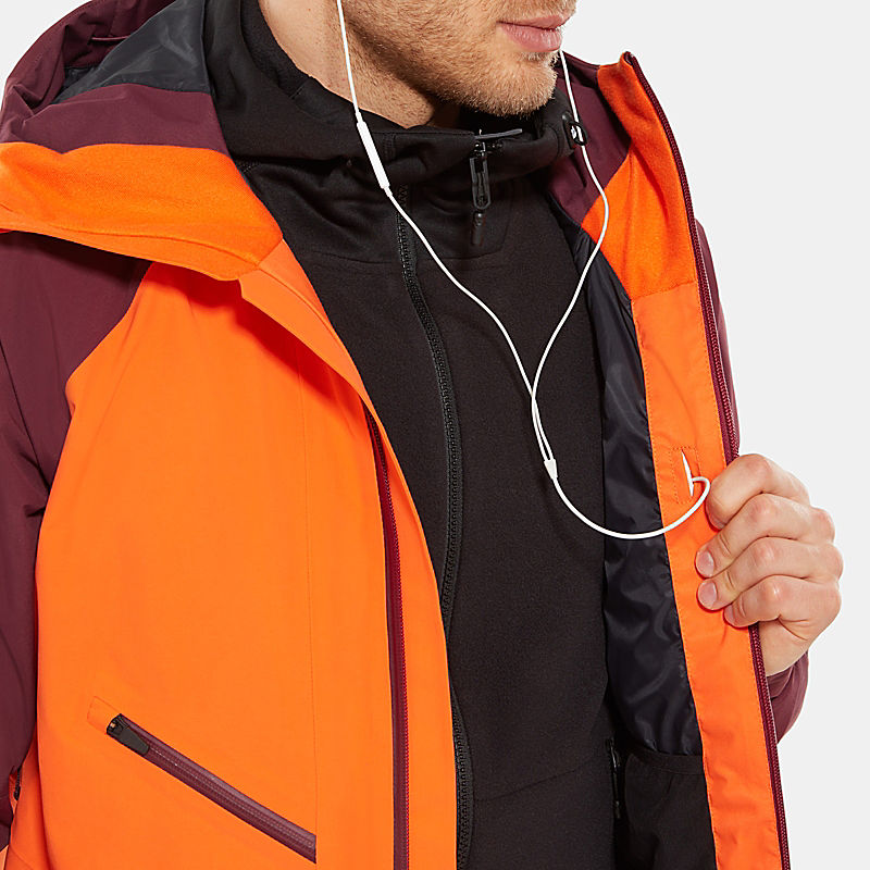 Herren Steep Series Powderflo Jacke-