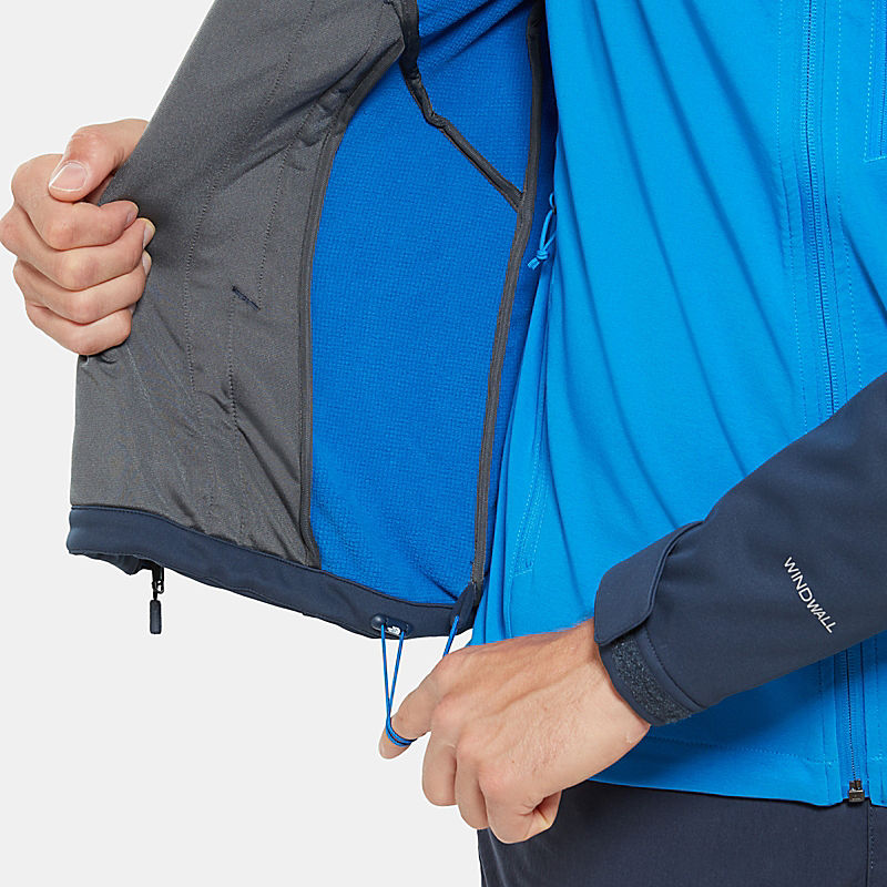 The Softshell Capucha Kabru Con Chaqueta Para Face Hombre North Owq7YU7