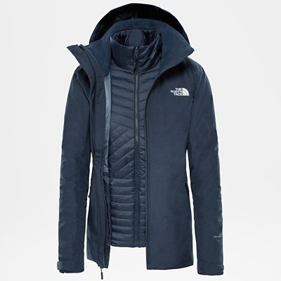 The North Face Womens Inlux Zip-in Triclimate Jacket Urban
