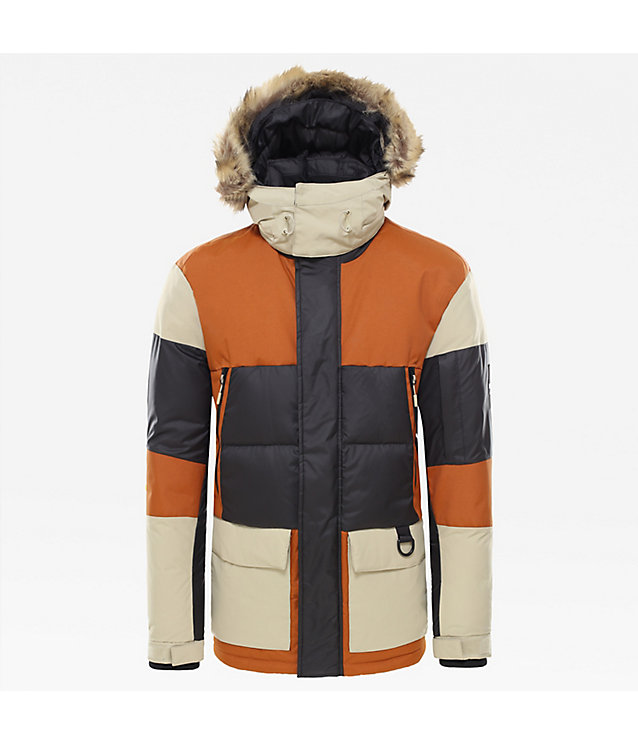 Herren V-Stok Daunenparka | The North Face
