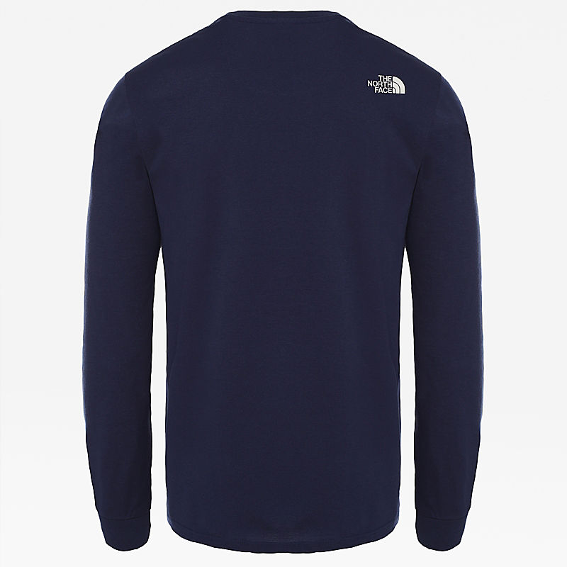 Men's Simple Dome Long-Sleeve T-Shirt-